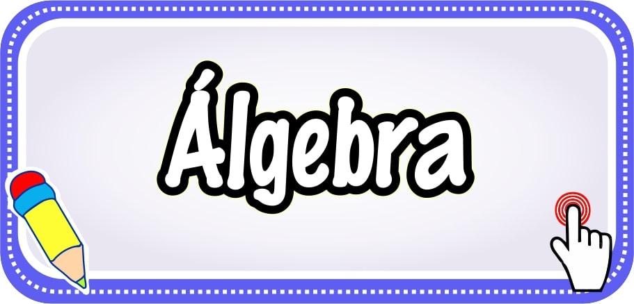 Álgebra - Web del Docente