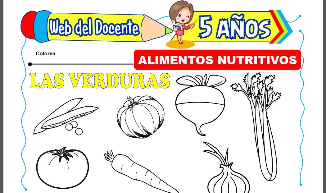 Alimentos Nutritivos para Niños de 5 Años