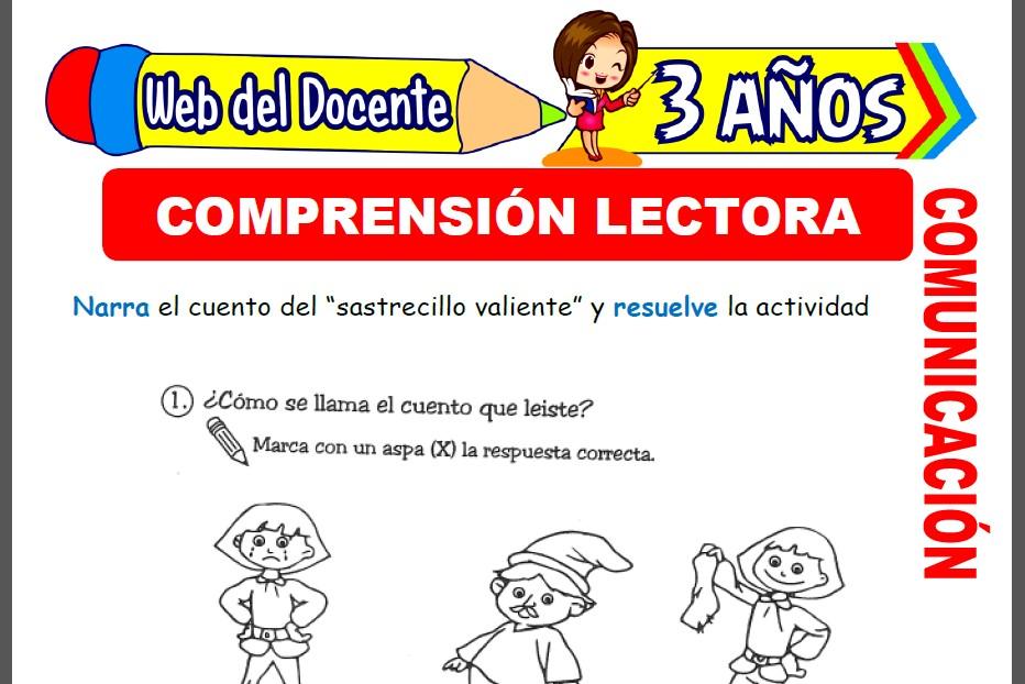 Comprensión Lectora para Niños de 3 Años