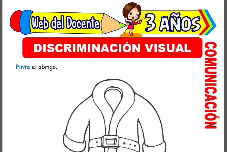Discriminación Visual para Niños de 3 Años