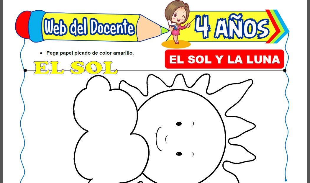 El Sol y la Luna para Niños de 4 Años