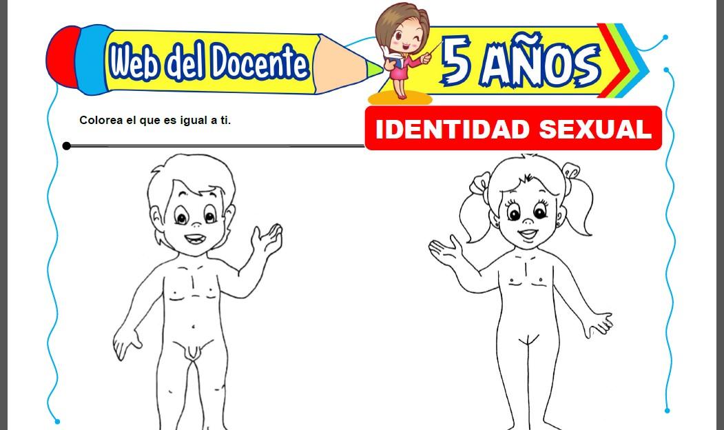 Identidad Sexual para Niños de 5 Años