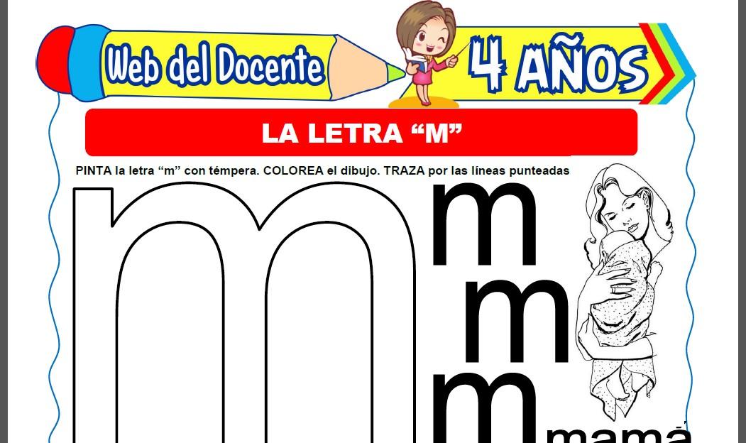 La Letra M para Niños de 4 Años