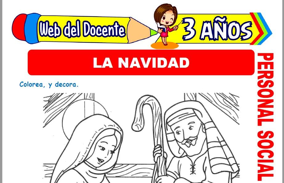 La Navidad para Niños de 3 Años