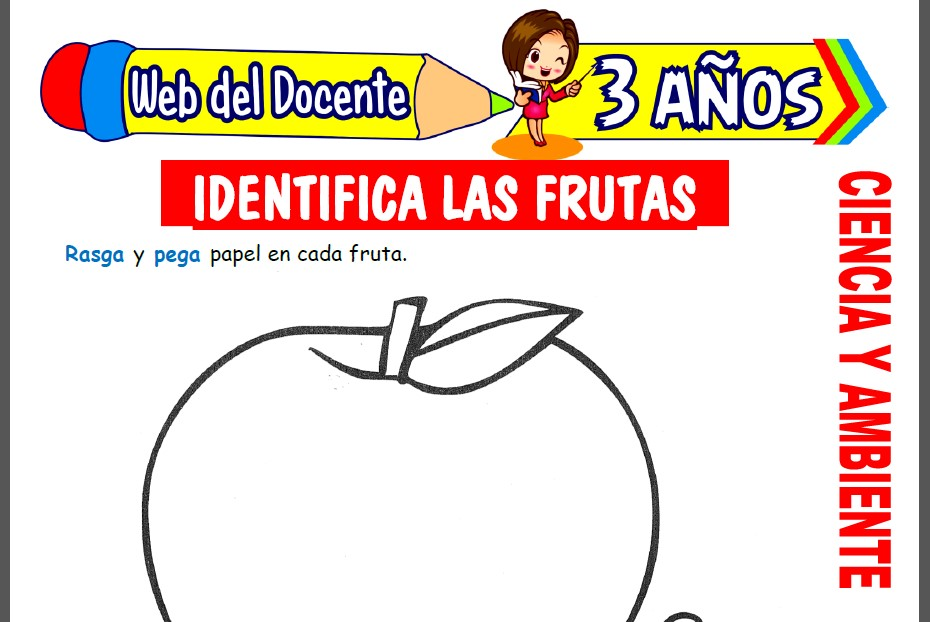 Las Frutas para Niños de 3 Años