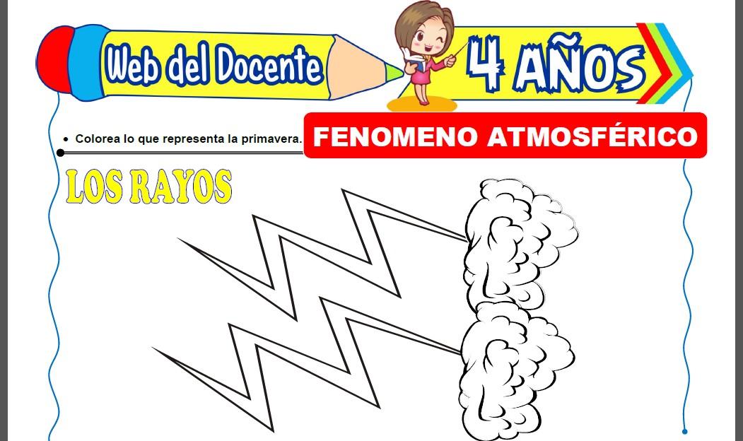 Los Fenomenos Atmosfericos para Niños de 4 Años