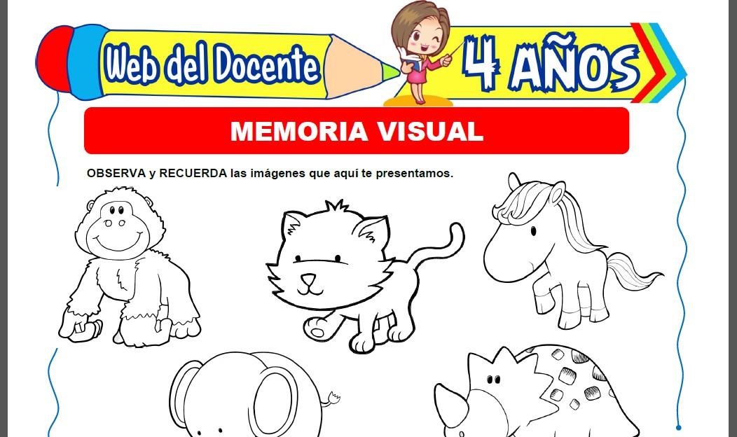 Memoria Visual para Niños de 4 Años