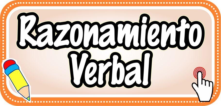 Razonamiento Verbal - Web del Docente