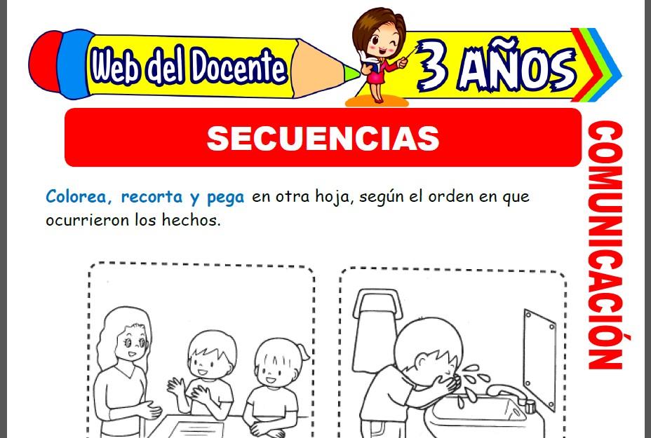 Secuencias para Niños de 3 Años