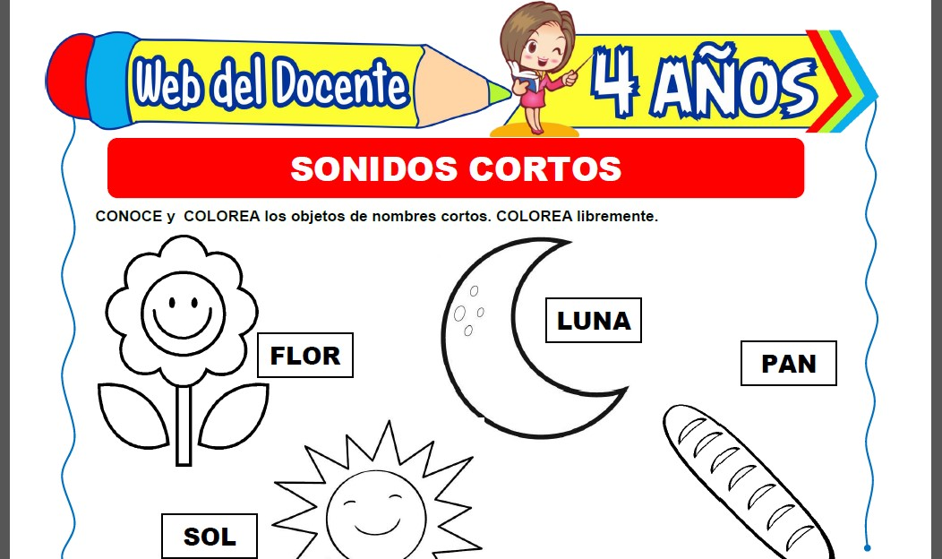 Sonidos Cortos para Niños de 4 Años