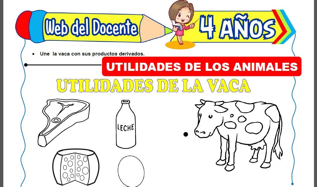 Utilidades de los Animales para Niños de 4 Años