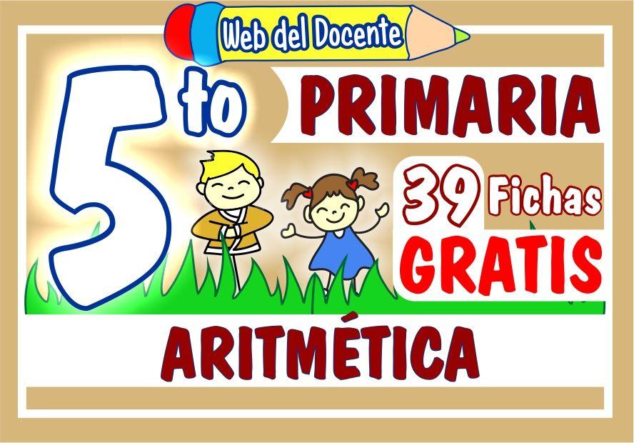 Aritmetica para Quinto Grado de Primaria