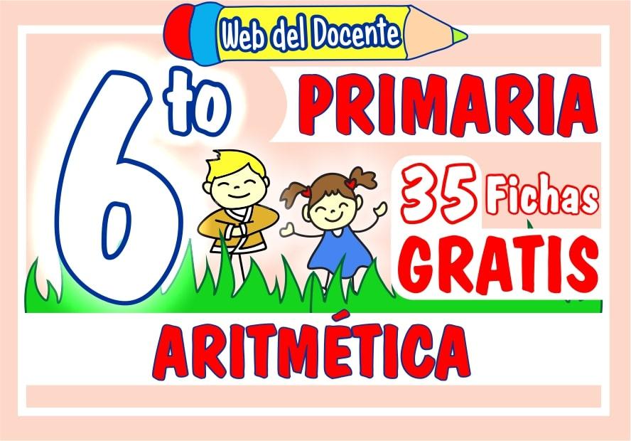 Aritmetica para Sexto Grado de Primaria