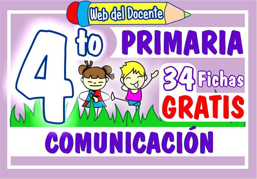 Comunicación para Cuarto Grado de Primaria