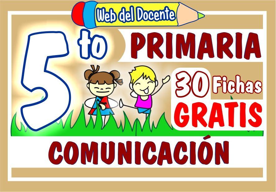 Comunicacion para Quinto Grado de Primaria
