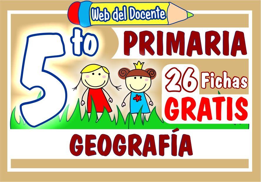 Geografia Quinto Grado de Primaria