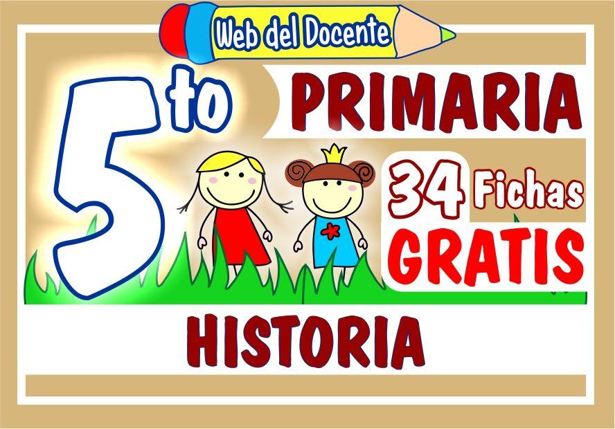 Fichas de Historia para Quinto Grado de Primaria