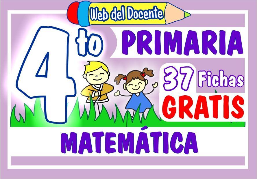 Matemática para Cuarto Grado de Primaria