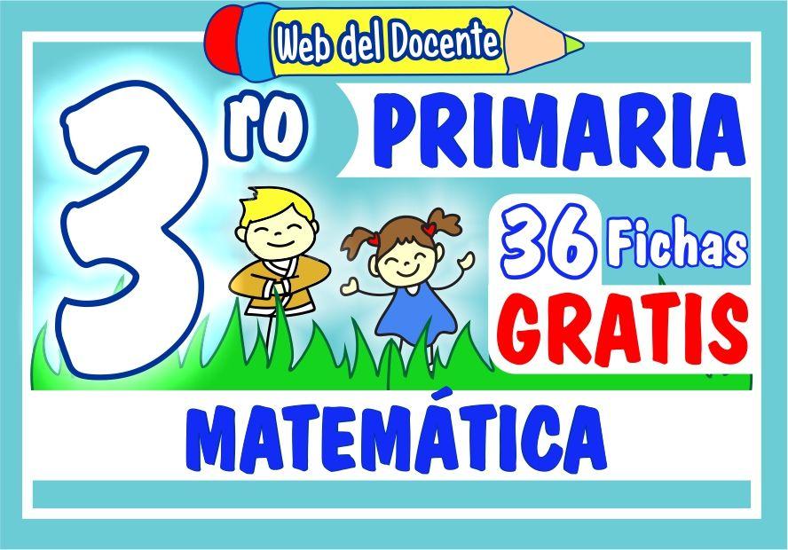Matemática para Tercer Grado de Primaria