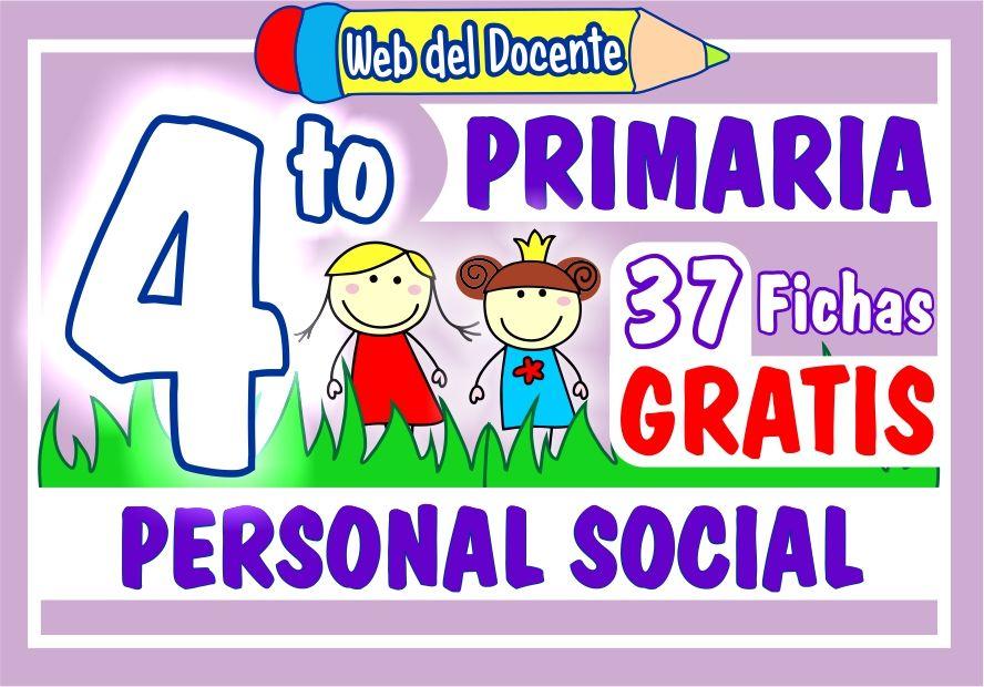Personal Social para Cuarto Grado de Primaria