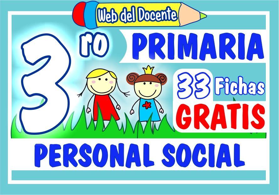 Personal Social Tercer Grado de Primaria