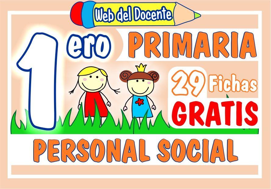 Personal Social para Primer Grado de Primaria