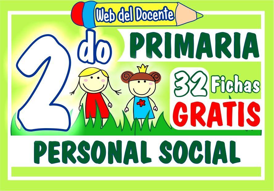 Personal Social Segundo Grado de Primaria