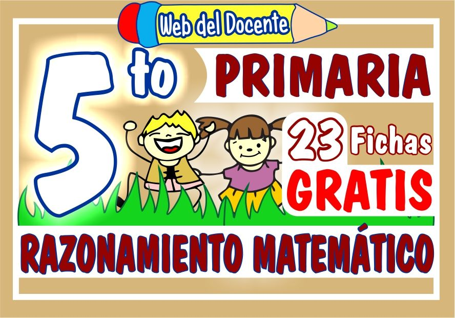 Razonamiento Matematico para Quinto Grado de Primaria