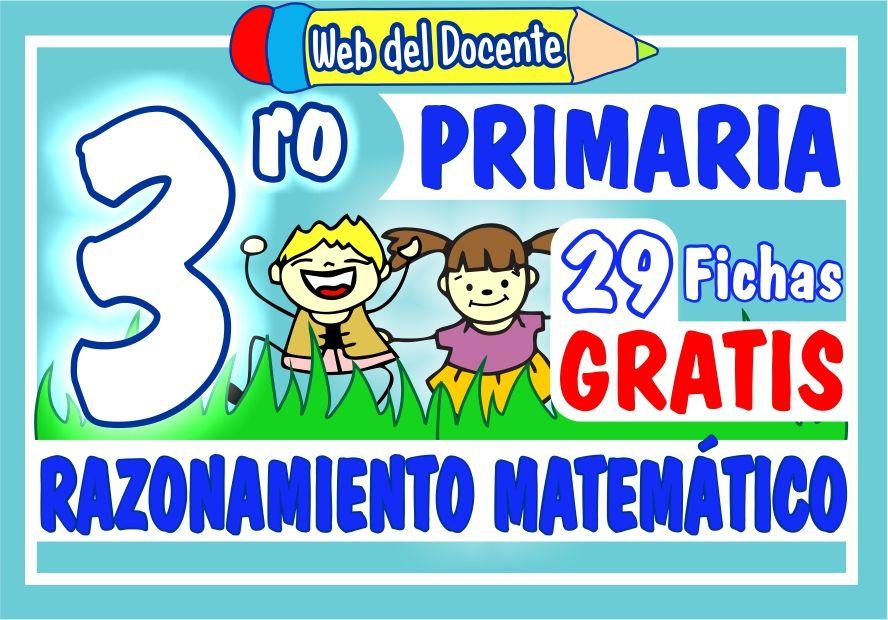 Razonamiento Matemático para Tercer Grado de Primaria